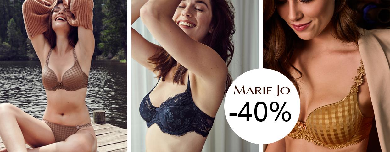 Spar 40% på Marie Jo