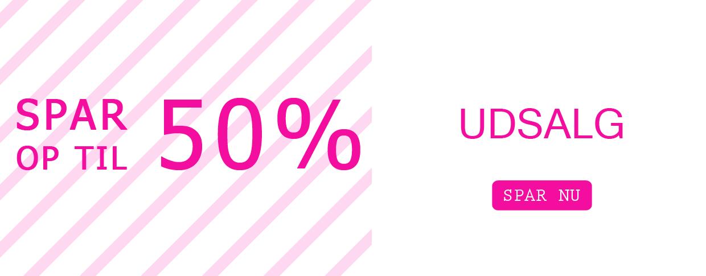 Udsalg spar 50%