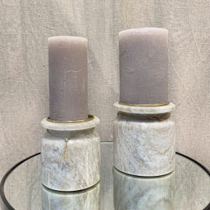 Trude Marble Candle Holder