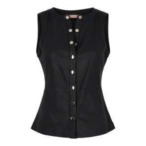 Hariet Leather Top