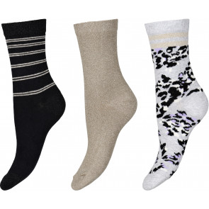 Ankle Sock Cotton 3-pack